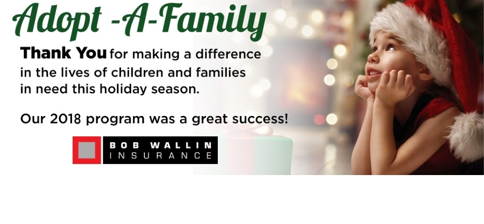 2018 Adopt a Family Update