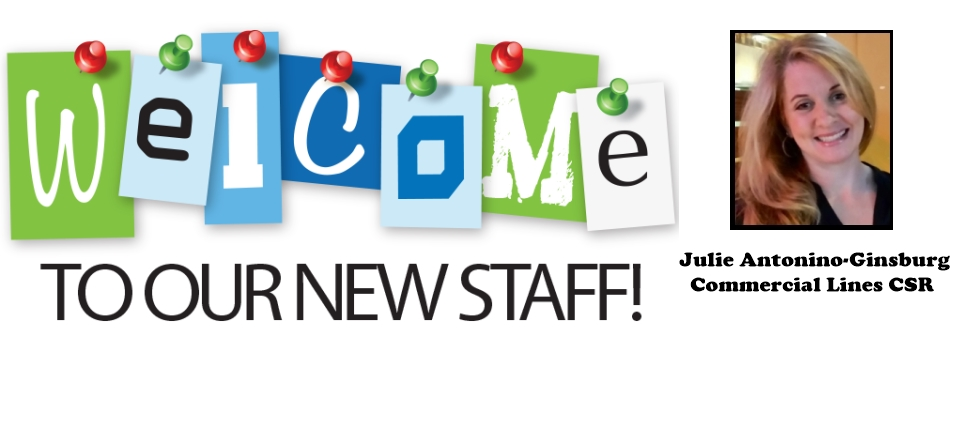 Welcome Julie!