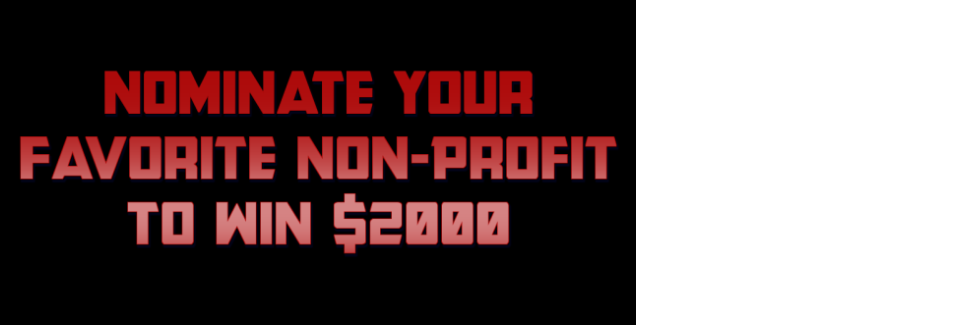 Nominate Your Favorite Non-Profit