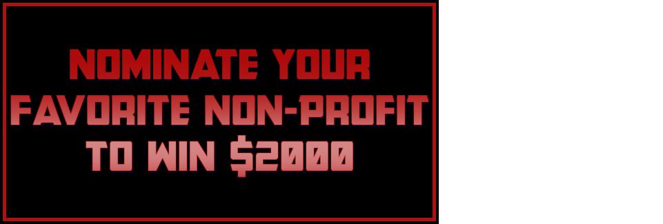 Non-Profit Giveaway!